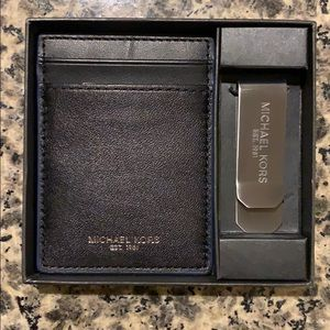 Michael Kors Wallet + Money Clip